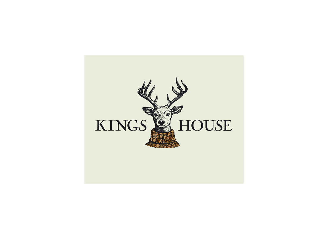 A new logo for Glencoe's most famous hotel inspired by the herds of deer who visit it regularly.