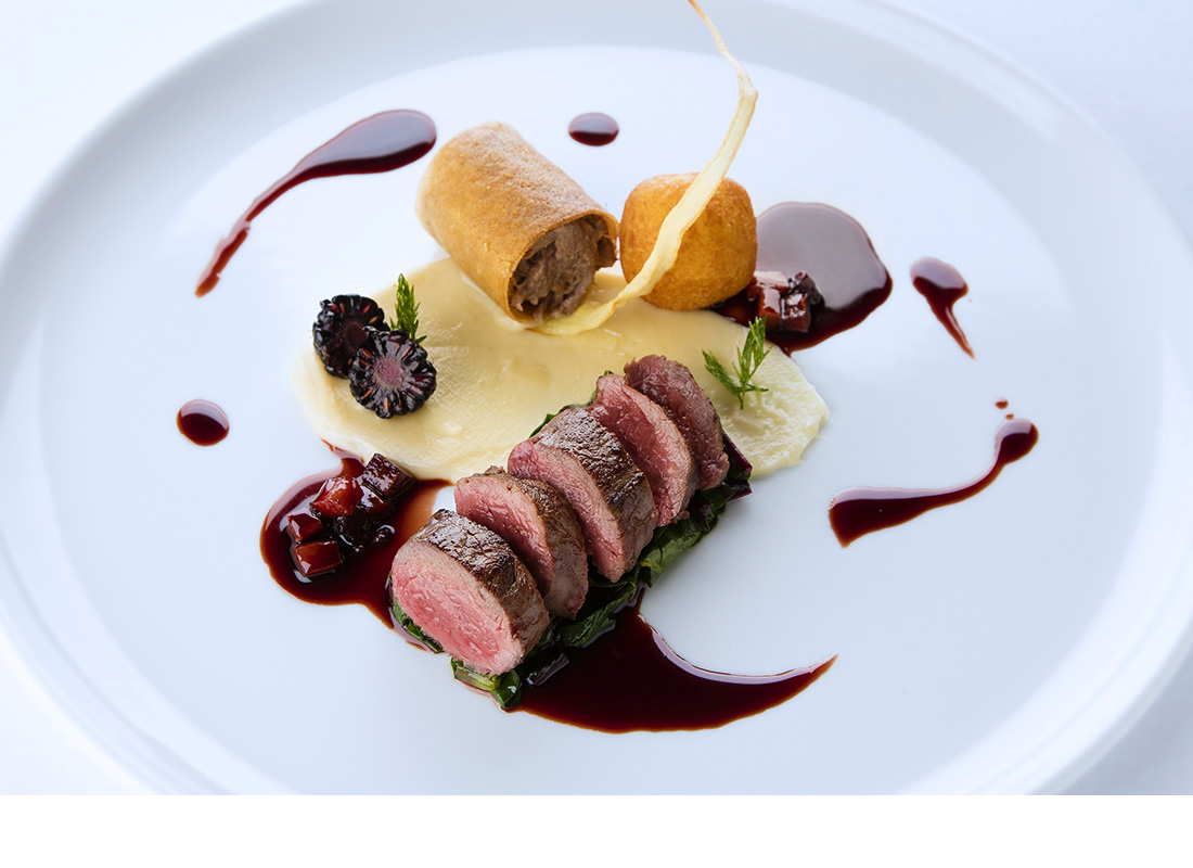 Food photography for Ullinish Country Lodge - Skye.